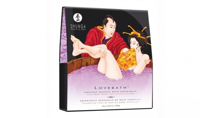 Love Bath par Shunga - Lotus Sensuel